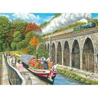 canalside memories - 200 piece extra large piece