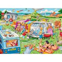 Camping Chaos - 200 Piece Extra Large Piece