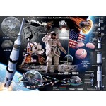 The Moon Landing - 50th Anniversary - 1000pc