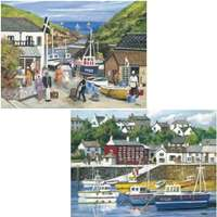 harbourside memories - 2 x 500 piece