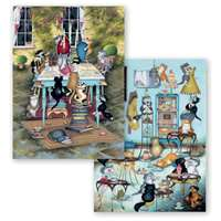 Crazy Cats - Tea Time Treats - 2 x 500 Piece