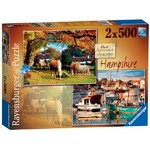 Picturesque Hampshire - 2 x 500pc