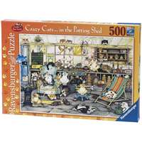 Crazy Cats - In The Potting Shed