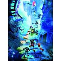 epic mickey - staircase