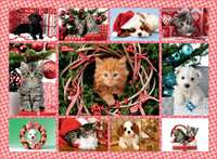 Christmas Cuties 500pc