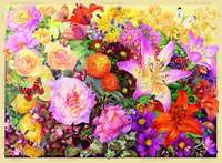 The Cottage Garden - Autumn - 500pc