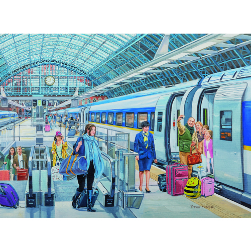 Eurostar at St Pancras - 500pc
