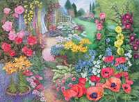 Garden Vistas No 2 - Summer Breeze - 500pc
