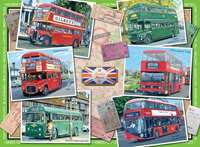 Our Traveling Heritage - No 2 - London Buses from 1945 - 500pc