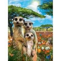 Mischievous Meerkats - 500pc