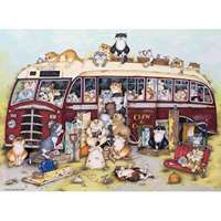 Crazy Cats - Vintage Coach Trip - 500pc