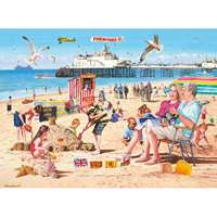 A Day at the Beach - 500pc