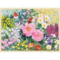 The Cottage Garden - Winter - 500pc