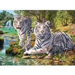 White Tigers - 500pc