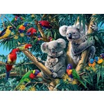 Koalas in a Tree - 500pc