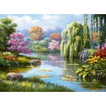 Romantic Pond View - 500pc