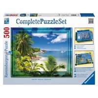 Complete Puzzle Set - Beach - 500 Piece