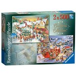 Christmas Collection No 1 - Christmas Market and Santas Christmas Supper - 2 x 500pc