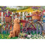 Cute Dogs in the Garden - 500pc
