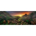 Sunrise over Iceland - Panoramic - 1000pc
