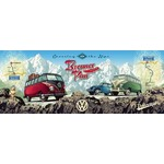 Cross the Alps with VW - Panoramic 1000pc