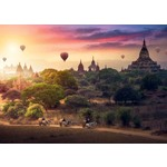 Hot Air Balloons Over Myanmar - 1000pc