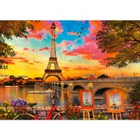 The Banks of the Seine - 1000pc