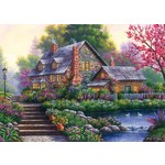 Romantic Cottage - 1000pc