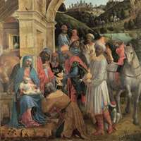 National Gallery - The Adoration Of The King - Super Size
