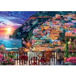 Dinner in Positano - Italy - 1000pc