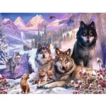 Wolves in the Snow - 2000pc