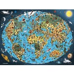 Cartoon Earth - 1500pc