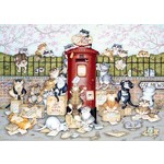 Crazy Cats - Lost in the Post - 1000pc