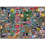 Colin Thompson - Awesome Alphabet - E - 1000pc