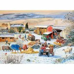 Winter on the Farm - 1000pc