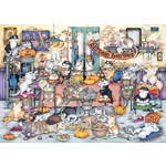 Crazy Cats - Autumn Banquet - 1000pc