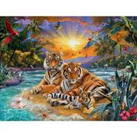 Tiger Family - 2000pc