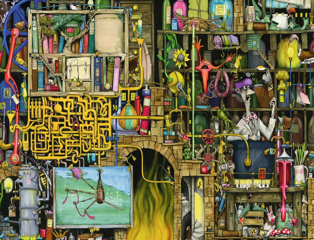 Colin Thompson - Crazy Laboratory - 2000pc