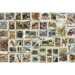Animal Stamps - 3000pc