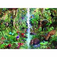 Jungle Animals - 9000 Piece