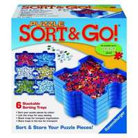 puzzle sort & go sorting trays