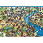 London City Map - 500pc