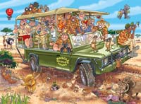 WASGIJ - Original 31 - Safari Surprise - 1000pc