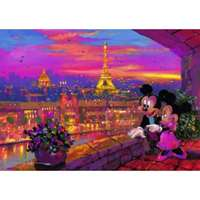 disney - a paris sunset