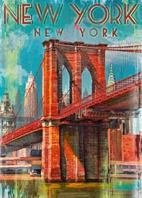 Retro New York - 1000pc