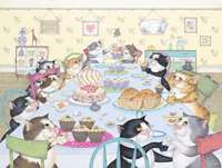 Crazy Cats - Enjoy Tea & Cake