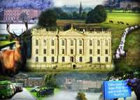 Chatsworth House - 1000pc