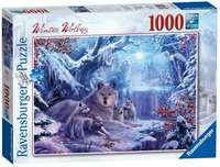 Winter Wolves - 1000pc