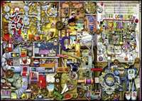 Colin Thompson - The Inventor''s Cupboard - 1000pc