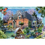 Country Cottage - Snowdrop Cottage - 1000pc